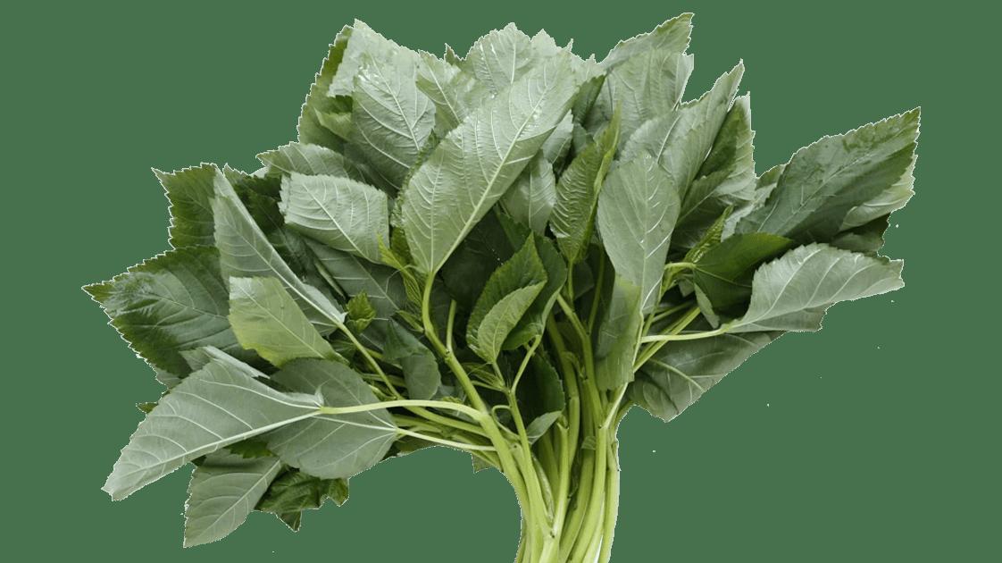Doğranmış Molehiya, taze sebze