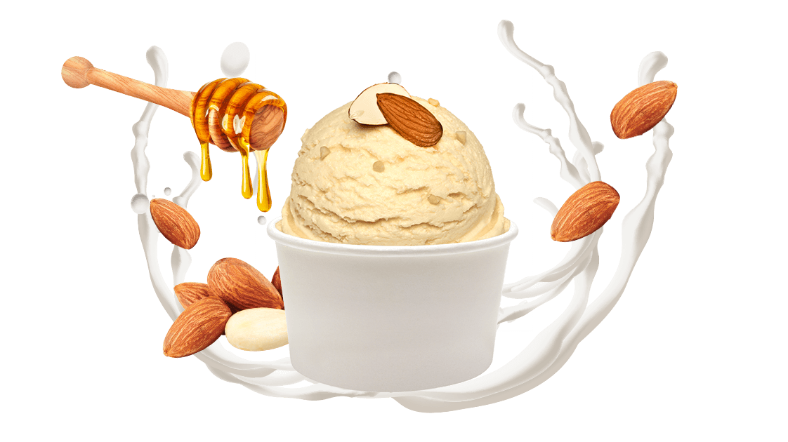 Ballı Bademli Dondurma, lezzetli dondurma, itikat Ballı Bademli Dondurma