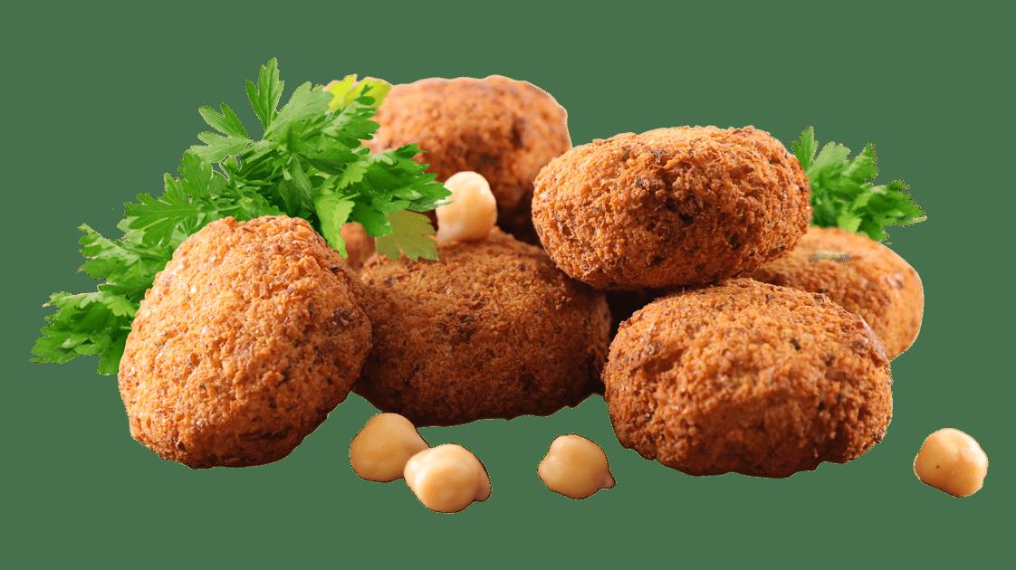 Chickpeas - Falafel, hazır pişir ye, vegan yemek